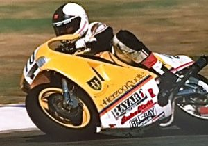 Michael Erdmann auf HERZOG-500 1989
